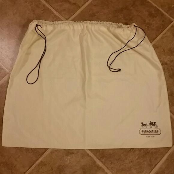 Coach Handbags - 👜NEW LISTING👜Authentic Coach Dust Cover Bag NWOT